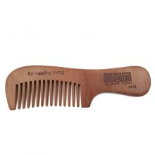 NAT 9818 Natural High Quality Wooden Comb