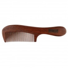 NAT 9833 Natural Gold Sandalwood High Quality Wooden Comb