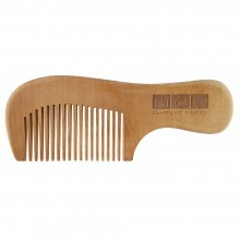 NAT 9831 Natural Gold Peach Wood High Quality Wooden Comb
